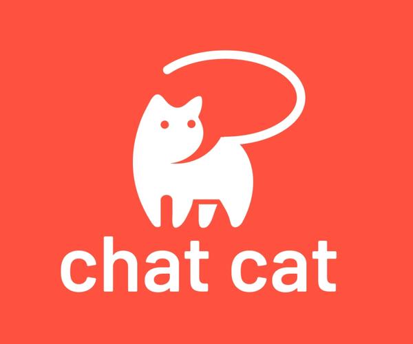 Chat Cat Logo