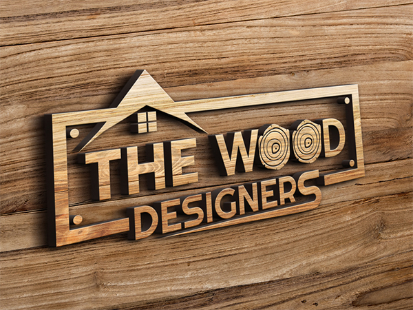 Wood Designer Logo Design