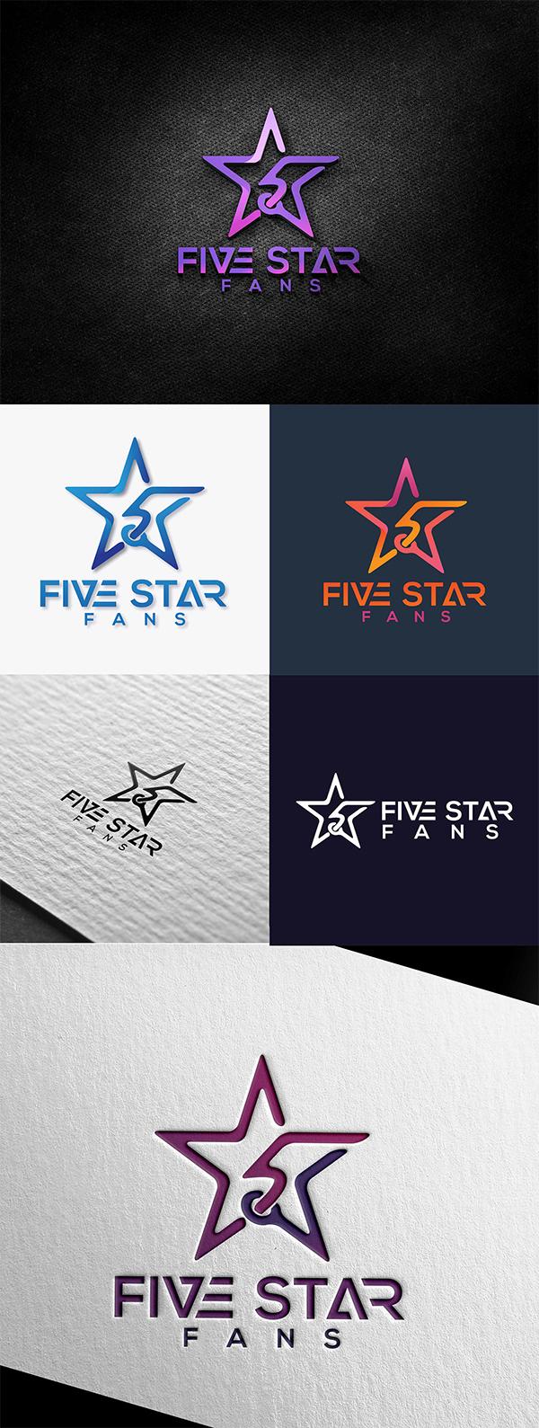 Five Star Creative Logo Design