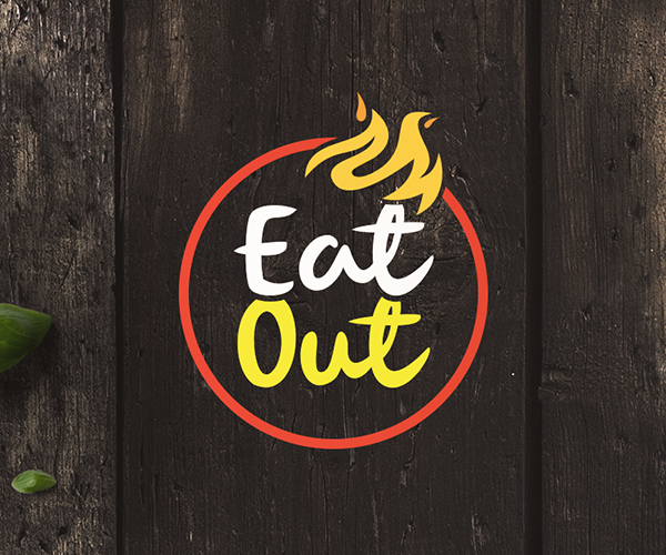 Eatout Restaurant Branding Logo Design