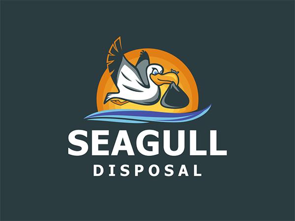 Seagull Disposal Logo Design