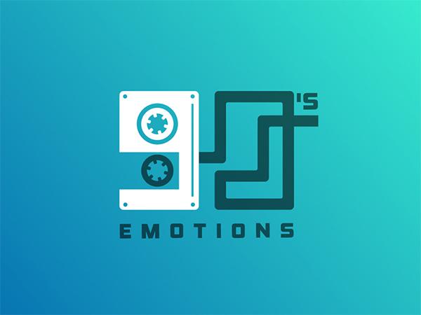 90's Emotions Logo Design