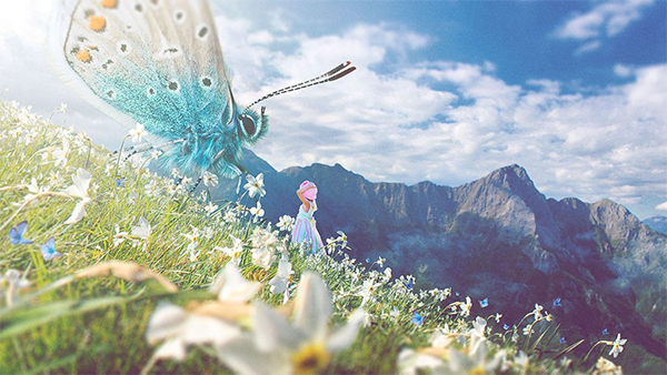 How to Create a Spring Fairytale Composition in Photoshop