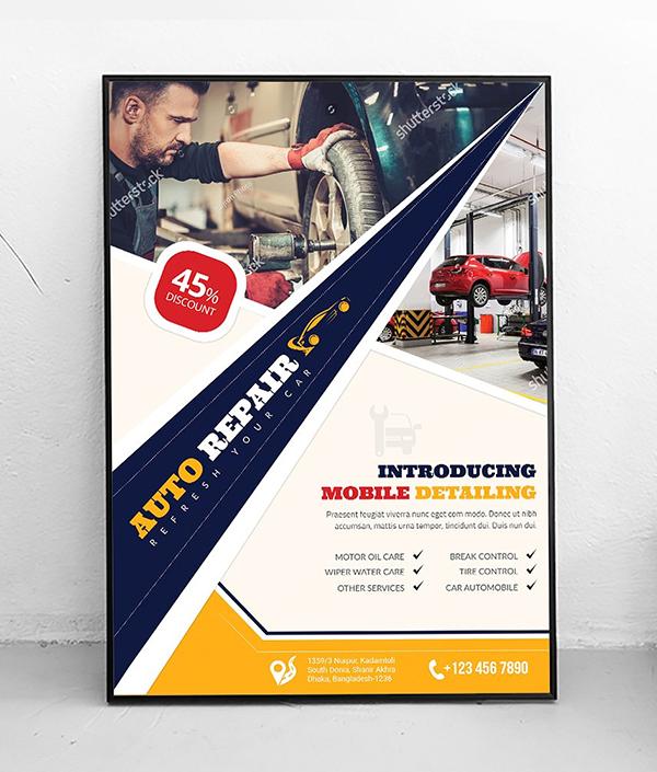 Poster | Car Auto Repair Service