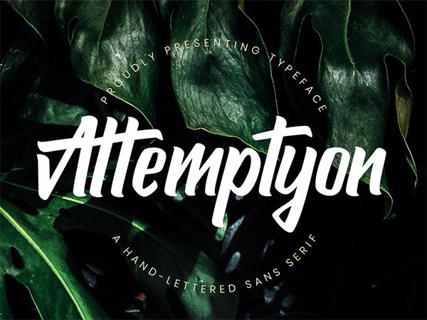 Attemptyon Sans Serif Free Font