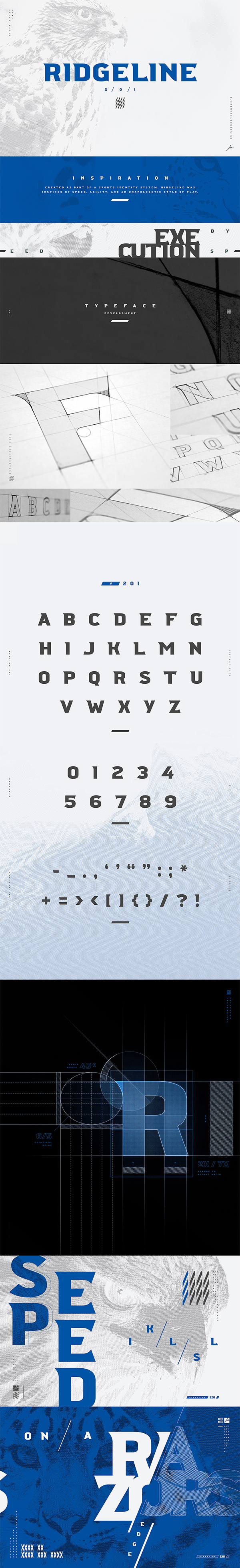 Ridgeline Display Free Font
