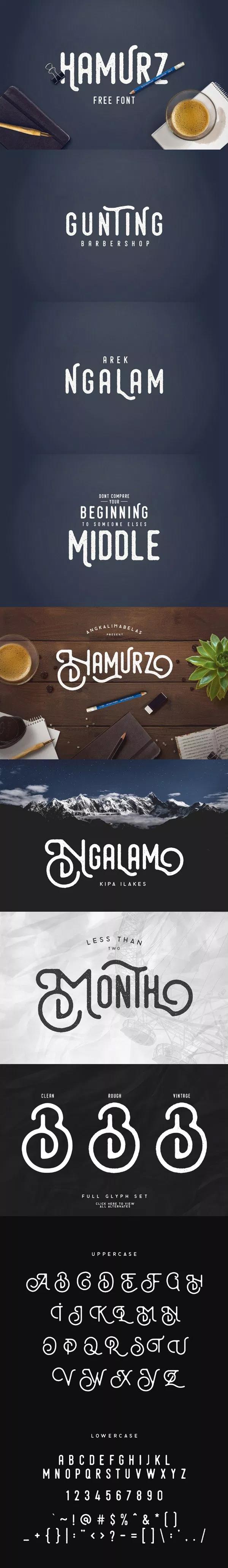 Hamurz Creative Free Font