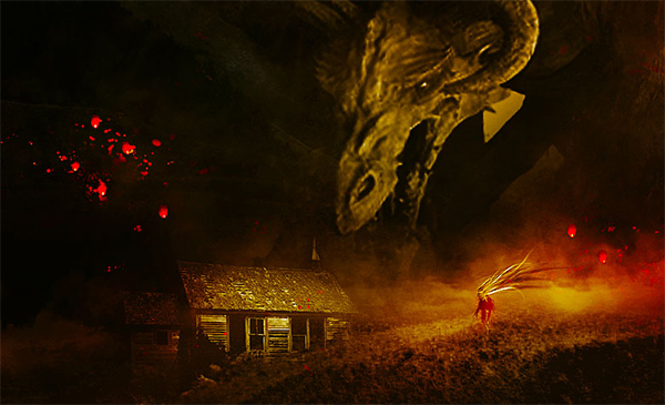 Create Valley of the Dragons Photo Manipulation in Photoshop