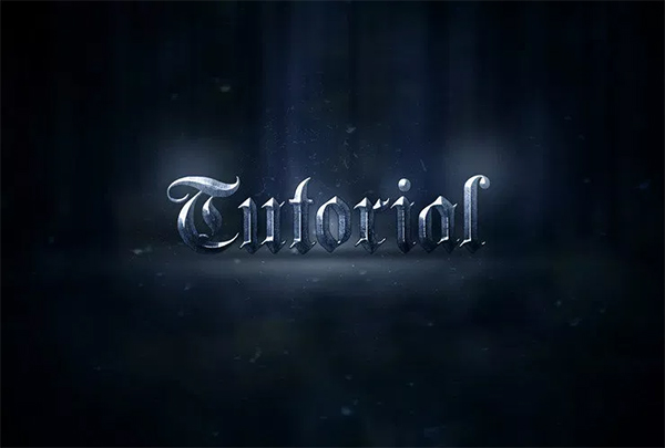 Create an Epic Metal Text Effect