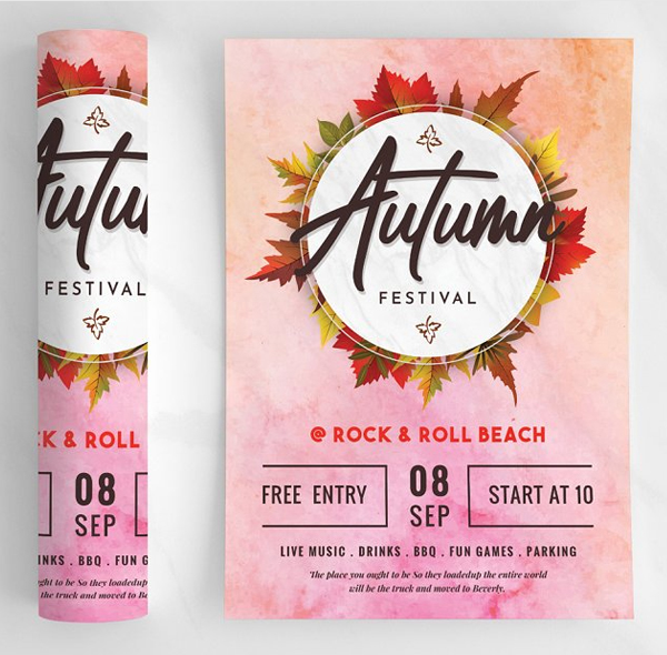 Autumn Flyer / Poster Template