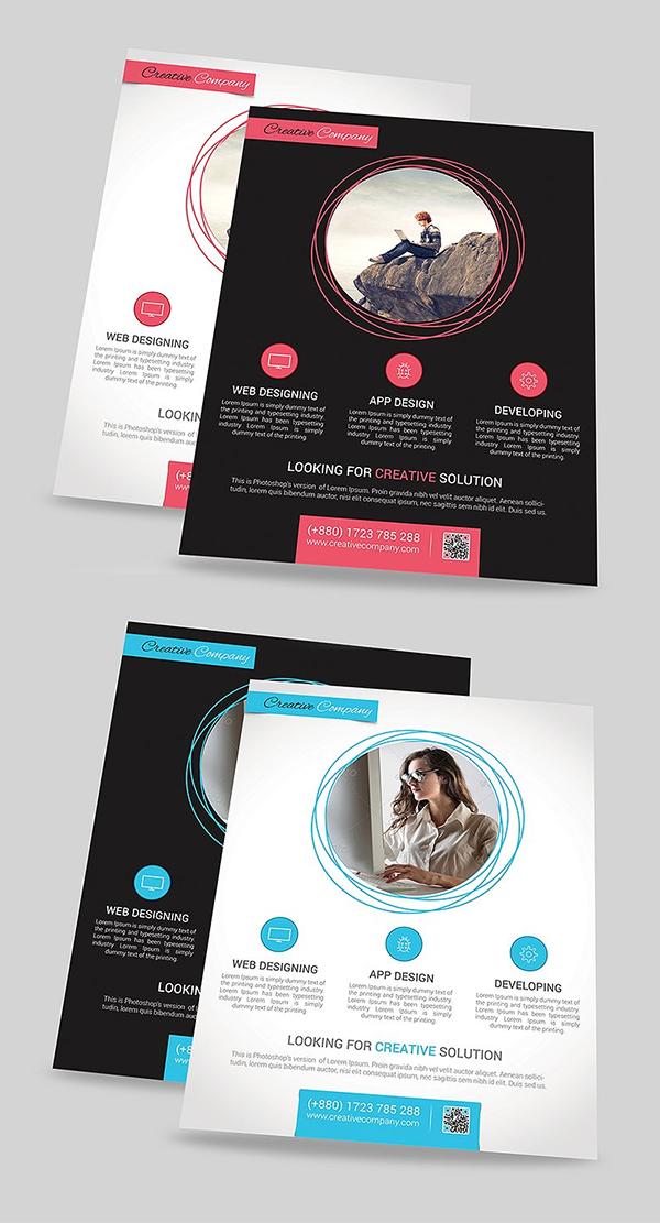 App Design Agency Flyer