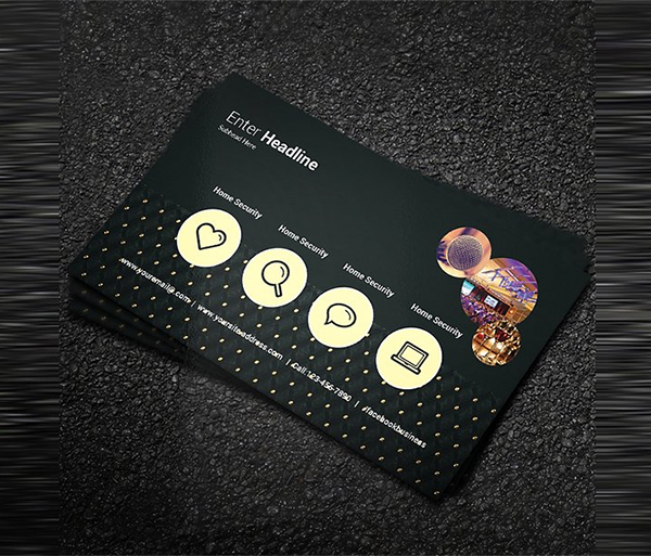 Open Air Party Business Card