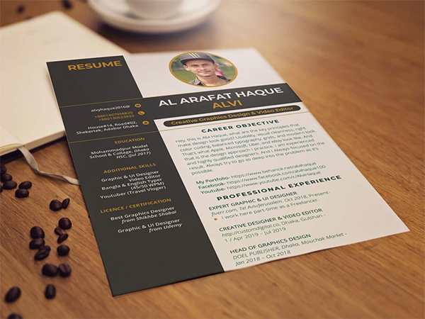 Free Professional CV Template