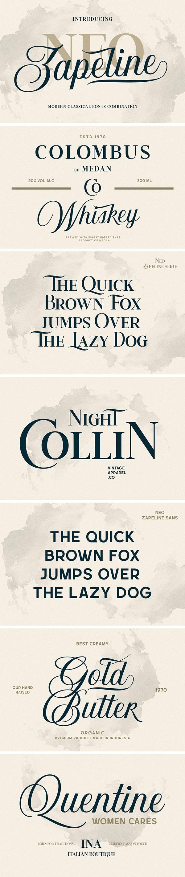 Neo Zapeline Font Family