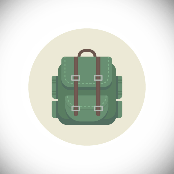 How to Create a Hiking Backpack in Adobe Illustrator