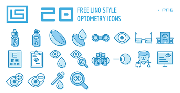 Free Vision Care Icons