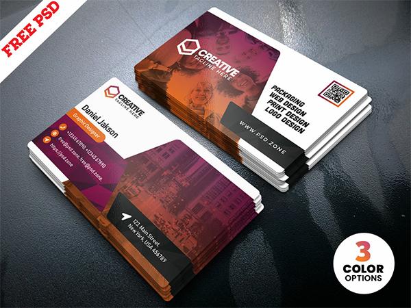 PSD Creative Business Card Templates