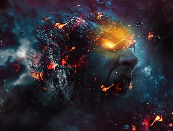 "Create ""Rage Planet"" Photo Manipulation in Photoshop"