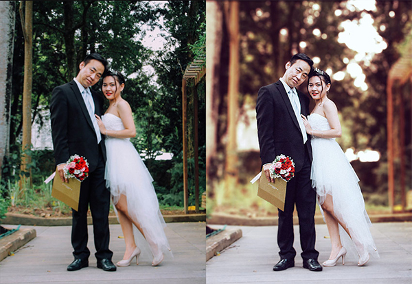 How to Create a Wedding Photoshop Action