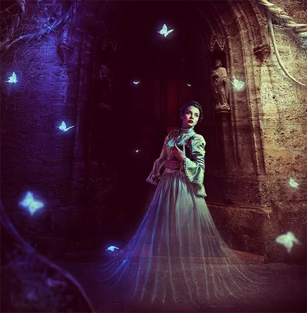 Create a Fantasy Ghost Scene with Adobe Photoshop