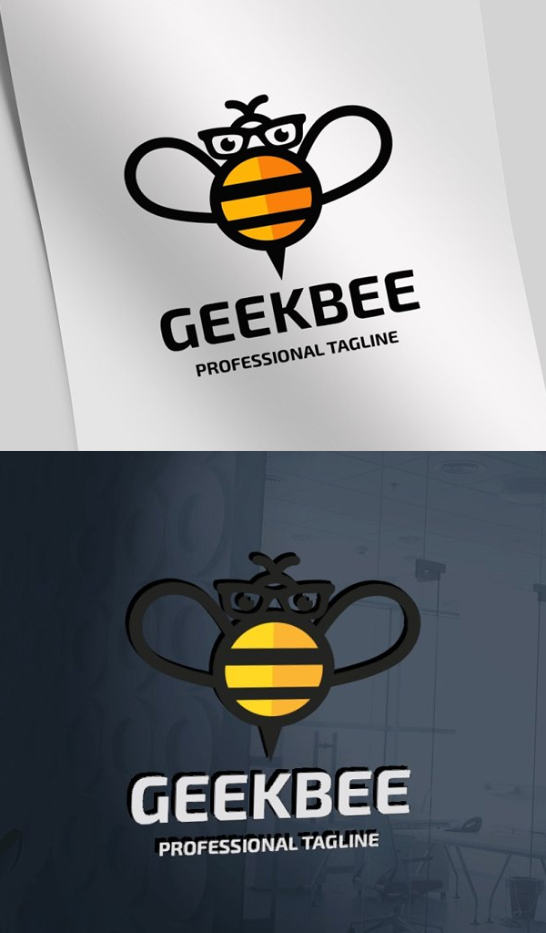 Geek Bee Logo