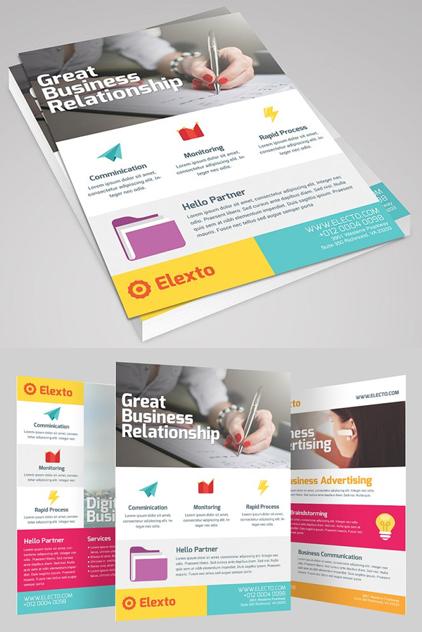Colourful Business Flyer