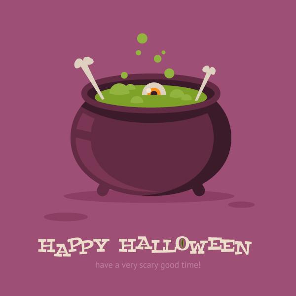How to Create a Magic Cauldron for Halloween in Adobe Illustrator