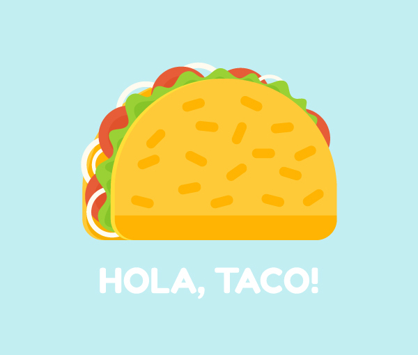 How to Create a Delicious Taco Icon