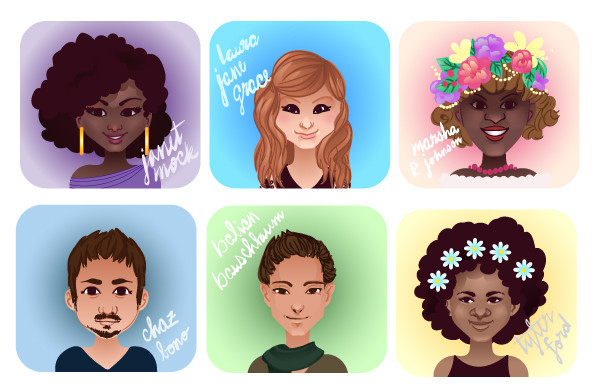 Create Cartoon Icons for International Transgender Day of Visibility in Adobe Illustrator