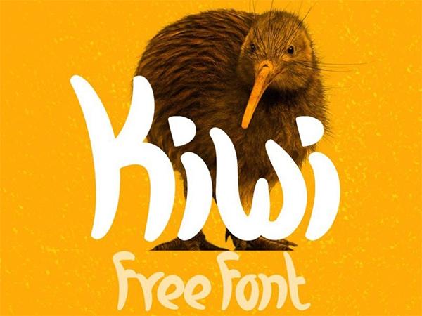 Kiwi - Free Fresh And Casual Font