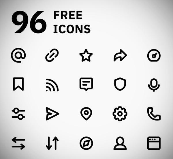 Super Basic Icons