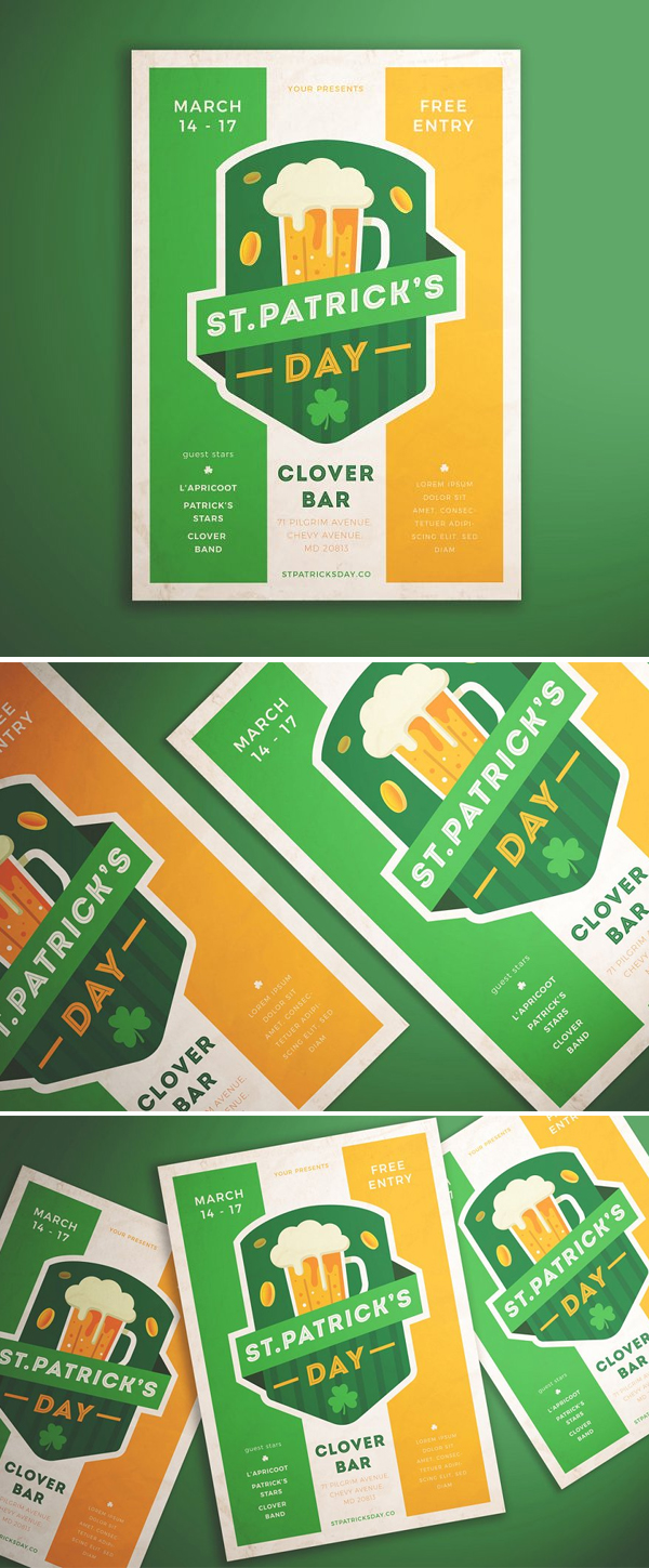 Patrick's Day Flyer Template