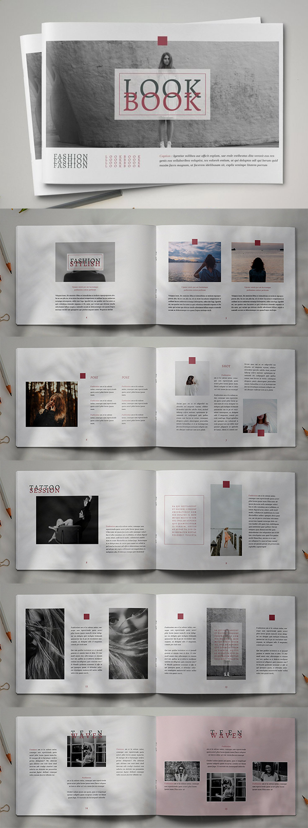 Modern Indesign Brochure Template