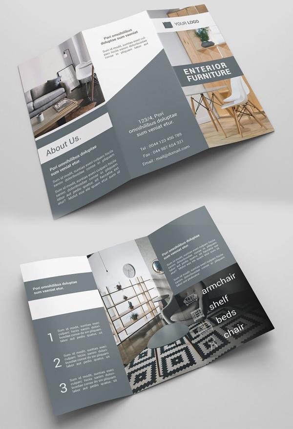 Funiture Tri-fold Brochures