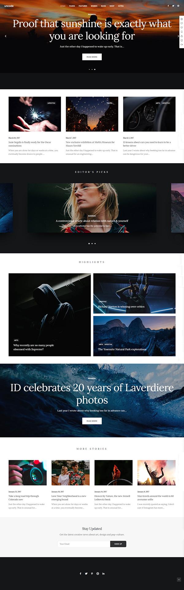Daxon - Agency & Portfolio WordPress Theme