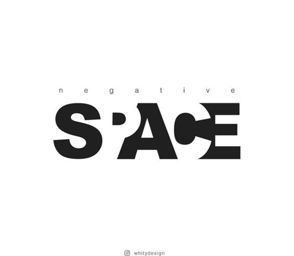 Negative Space Logo