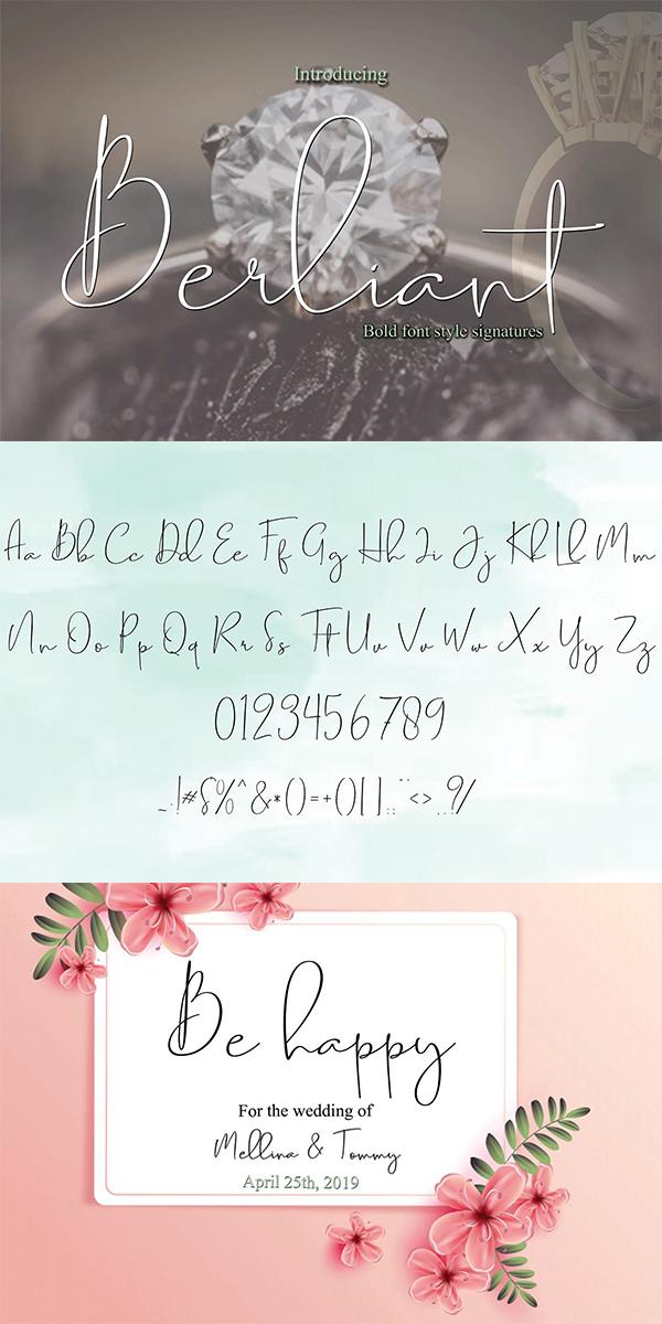 Berliat Font