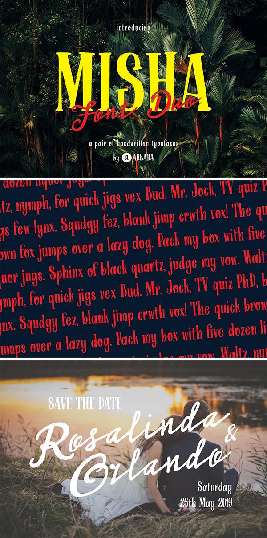 ARK Misha - Handwritten Font