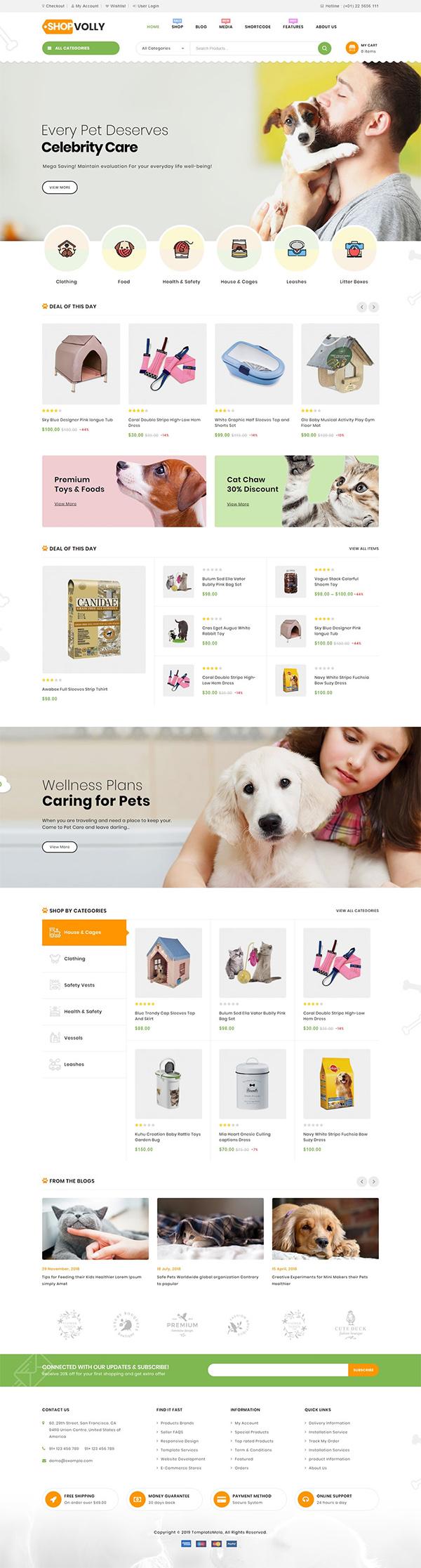 ShopVolly - Multipurpose WooCommerce Theme