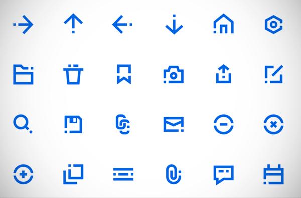 Blocky Icons