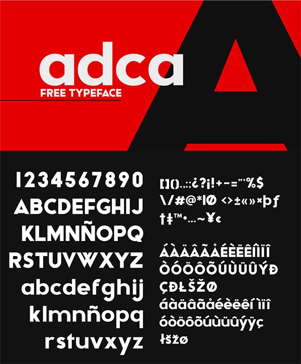 Bold Geometric Free Font