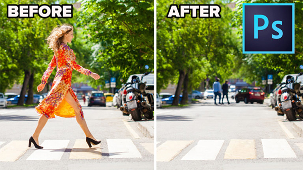 How To Remove A Person From A Photo in Photoshop