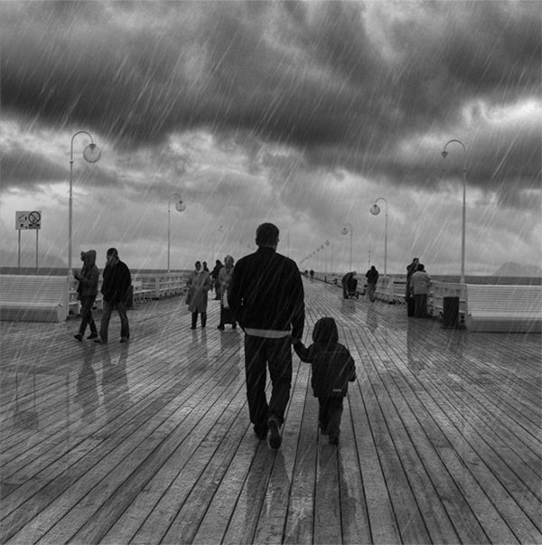 Add Dramatic Rain to a Photo in Photoshop