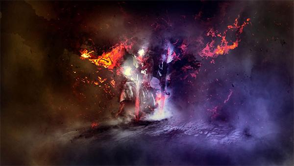 "Create Dark Medieval Knight Scene Inspired by ""Dark Soul"" Game in Photoshop"