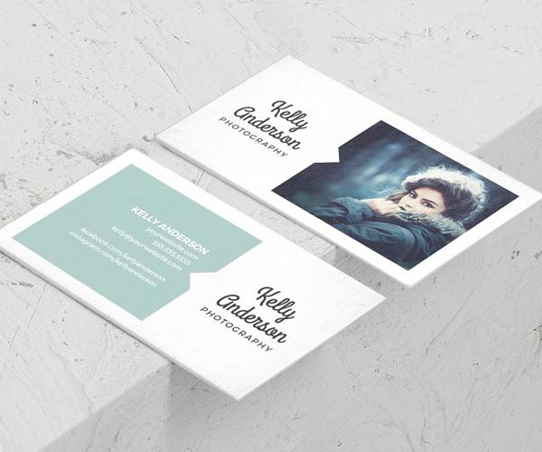 Photographer Minimal Business Card