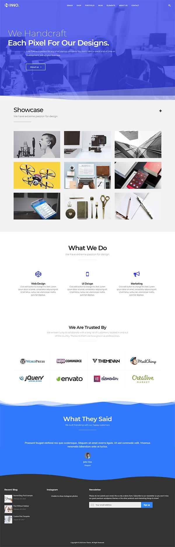 Inno Multi-Purpose WordPress Theme