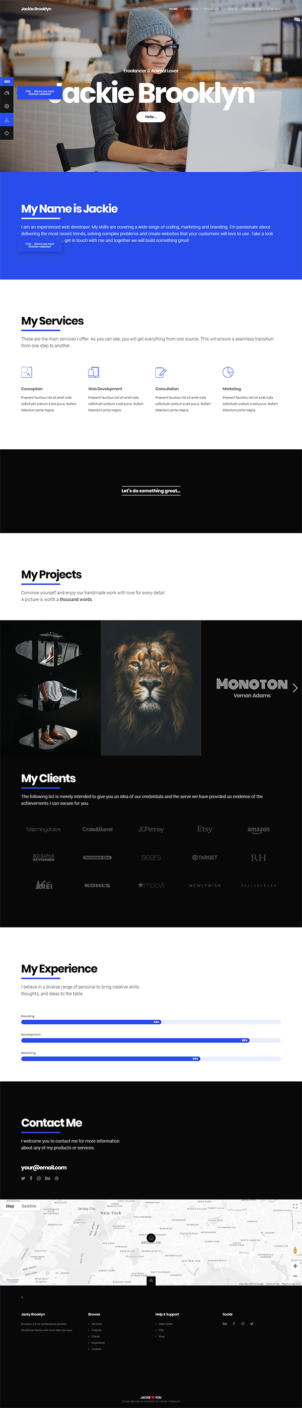 Brooklyn | Creative Multipurpose Responsive WordPress Theme