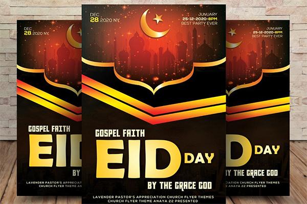 Ramadan & Eid Flyer