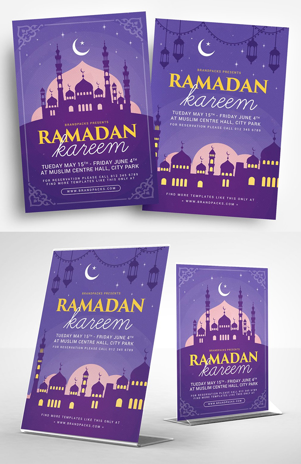 Awesome Ramadan Kareem Flyer Template