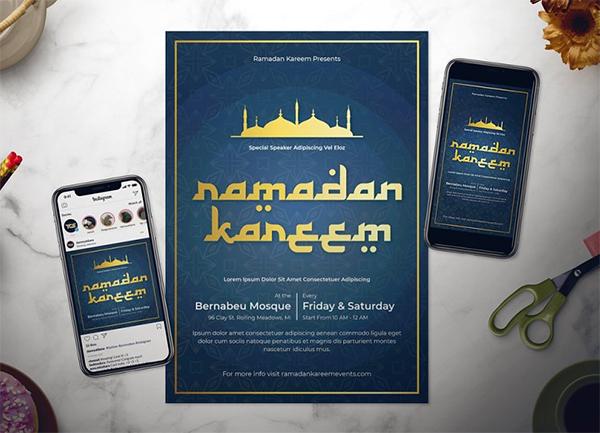 Ramadan Flyer Set